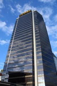 ASB Bank Centre skyscraper in Auckland